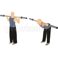 Упражнение «Доброе утро» с прямыми ногами